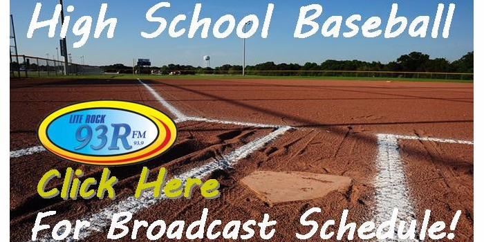93R High School Baseball Broadcast Schedule 2016 WRRR