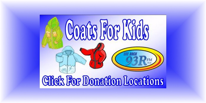 Coats For Kids Lite Rock 93R WRRR FM St. Marys West Virginia WV Mid-Ohio Valley winter coats jackets