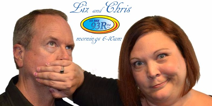 Liz and Chris Lite Rock 93R WRRR St. Marys West Virginia Morning Show