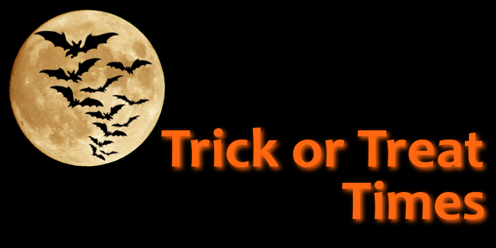 WRRR 93R 2017 Trick or Treat times Mid Ohio Valley MOV St. Marys